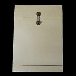 画像1: 角2マチ付保存袋/クラフト120/黒1色印刷/100枚