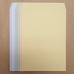 画像1: 角2テープ付/ECカラー100/黒1色印刷/3,500枚