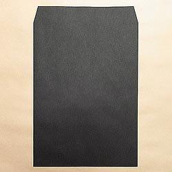 画像1: 角2/カラー85 ブラック/金or銀1色印刷/2,500枚