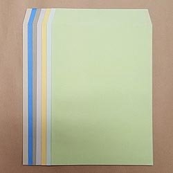 画像1: 角2テープ付/Kカラー85/基本カラー1色印刷/3,500枚