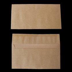 画像1: 洋0(洋長3)/ナチュラルクラフト80/黒1色印刷/1,000枚
