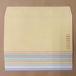 画像1: 洋0(洋長3)/ECカラー100/黒1色印刷/9,000枚