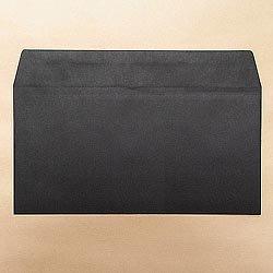 画像1: 洋0(洋長3)/カラー85 ブラック/〒枠なし/金or銀1色印刷/500枚