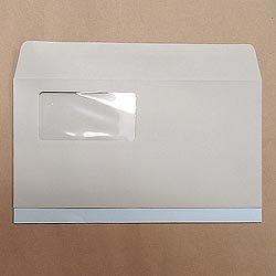 画像1: 洋0(洋長3)窓付/ECカラー100/〒枠なし/黒1色印刷/5,000枚