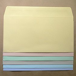 画像1: 洋0(洋長3)/ミエナイカラー100/〒枠なし/黒1色印刷/20,000枚