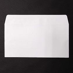 画像1: 洋0(洋長3)/ミエナイ白100/〒枠なし/黒1色印刷/3,000枚